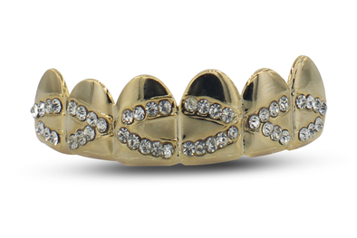 Cross Design CZ Grillz
