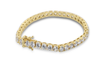 14K Yellow Gold Teenese Bracelet