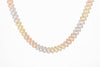 Iced Out  Diamond Cuban Necklace | Trio Color Chain