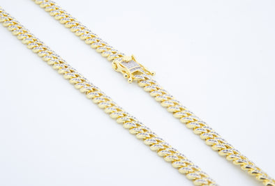 Miami Cuban Link Iced Out Necklace(7mm)