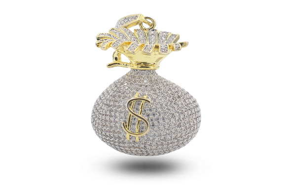 ICED OUT MONEY BAG with Vault