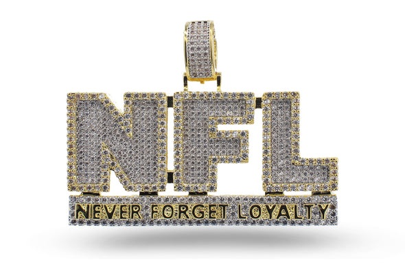 14k Never Forget Loyalty Pendant