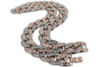 Two-Tone Miami Cuban Link Iced Out Chain