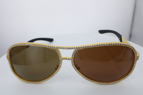 YELLOW GOLD DIAMOND SHADES