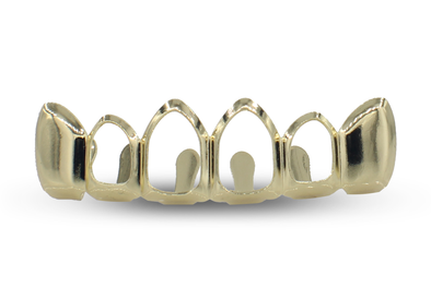 14k Open-face Grillz
