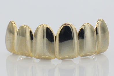 14k Solid Gold Grillz
