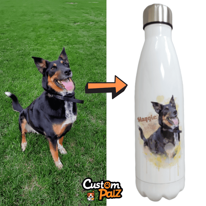 Custom Palz Personalized Water Bottle ™