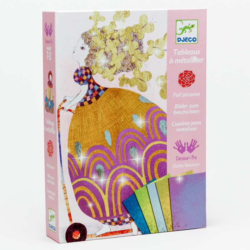 'So Pretty!' Foil Art by Numbers Kit