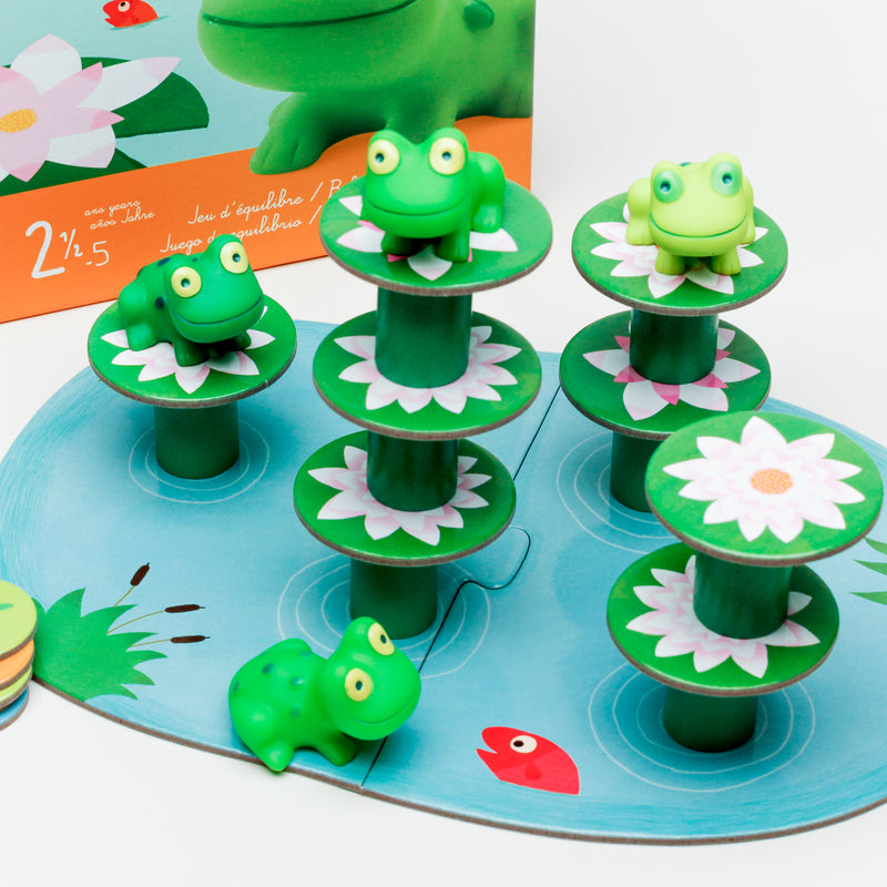 Little Balancing Frogs Coordination Game