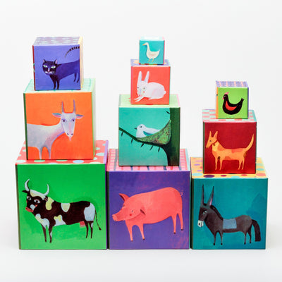 Nature & Animal Stackable Blocks