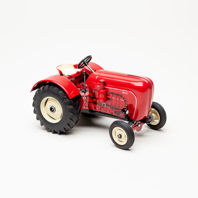 Porsche Master 419 Wind-Up Tin Tractor