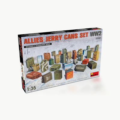 Allies Jerry Cans WWII Model Accessory Kit