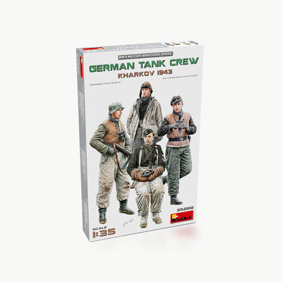German Tank Crew (Kharkov 1943) WWII Model Accessory Kit