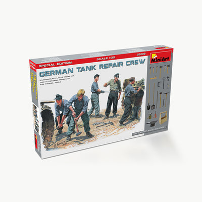 German Tank Repair Crew Special Edition WWII Model Accessory Kit