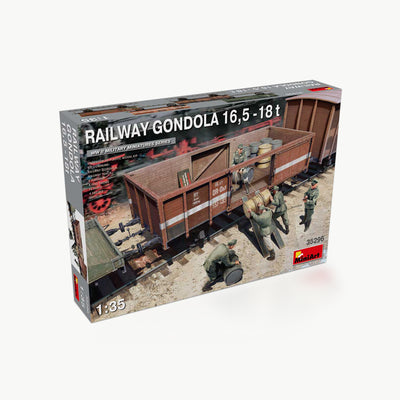 Railway Gondola 16.5-18T WWII Model Assembly Kit