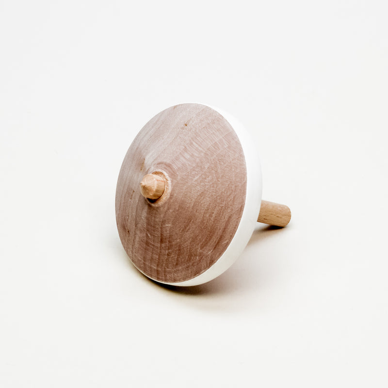 Flower Pattern Spinning Top