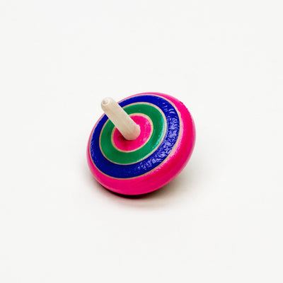 Twisted Multi-Colored Spinning Top