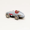 Vintage Diecast Mercedes Benz #1043 Wind-Up Micro Racer (Gray)