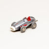 Vintage Diecast Mercedes Benz #1043 Wind-Up Micro Racer (Silver)