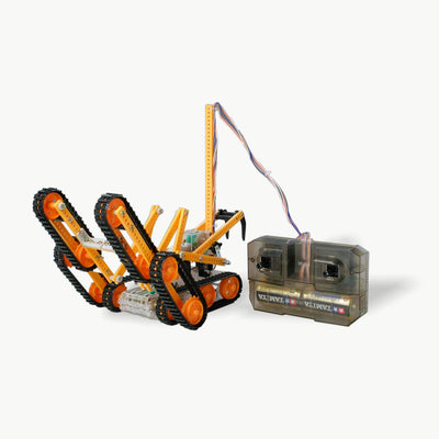 Remote Controlled (Wired) Rescue Crawler Assembly Kit