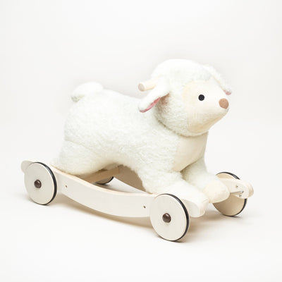 2-In-1 Plush Rocking Sheep