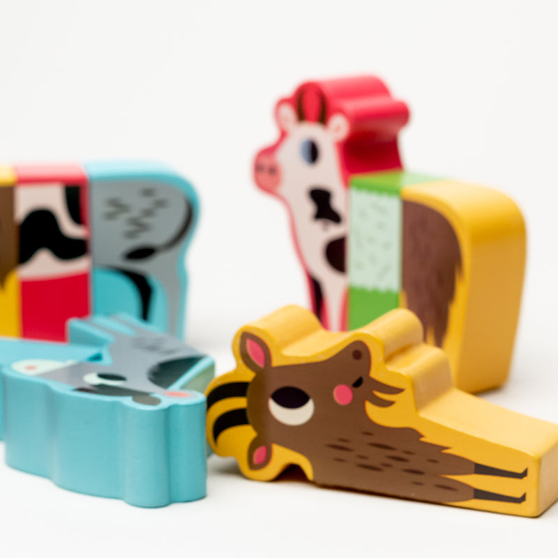 Magnetic Farm Animals Set