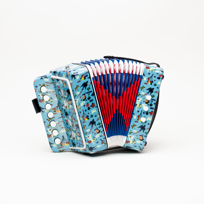 Paris Illustrated Accordion