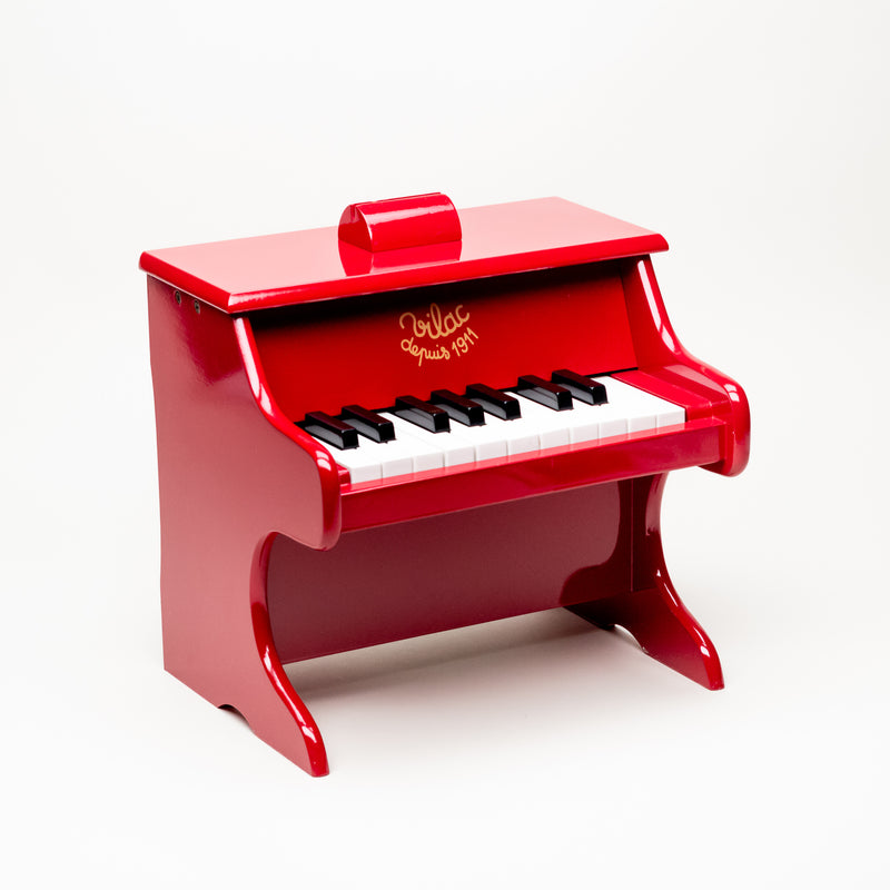 Red Piano With Scores
