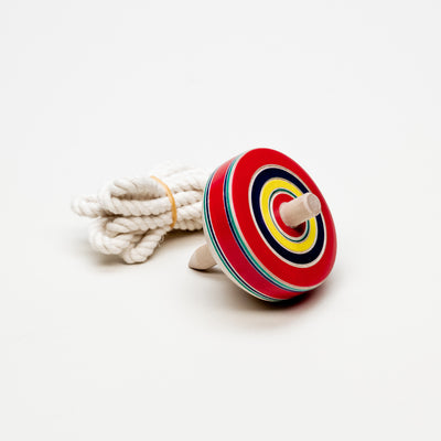 Beginner Spinning Top With Rope