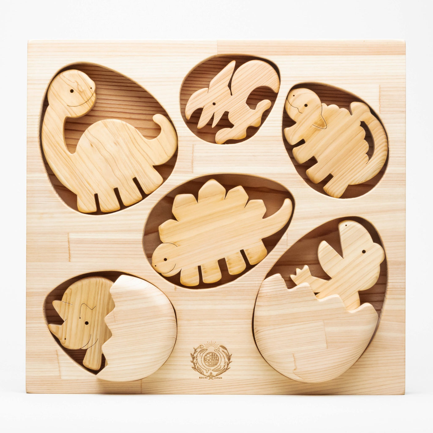 Whale Mountain Hatching Dinosaur Puzzle • The Coddiwomple Store