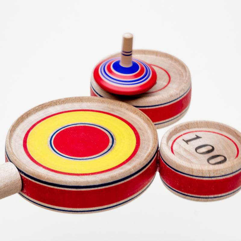 Jumping Spinning Top Scoring Game