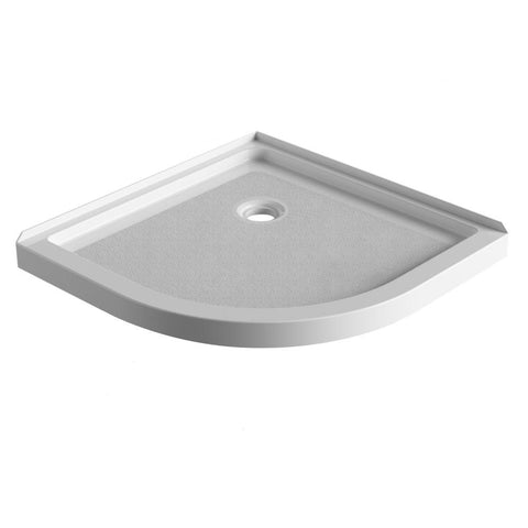 "Neo Round Acrylic Shower Base 38""x38""x3"""