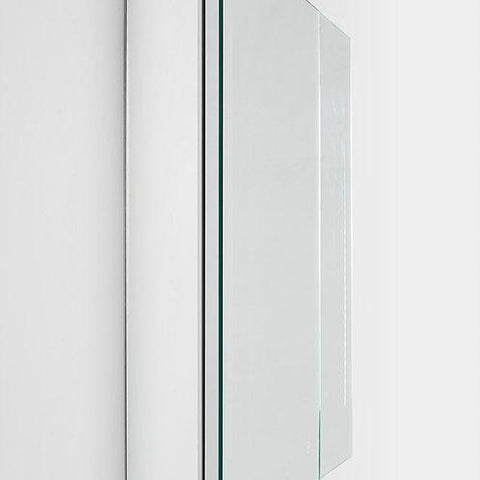 "Image of Royale Medicine Mirror Glass Cabinet for Bathroom 30"" x 30"" x 1.5"""
