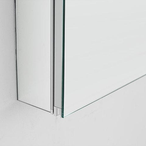 "Image of Royale Medicine Mirror Glass Cabinet for Bathroom 36"" x 30"" x 1.5"""