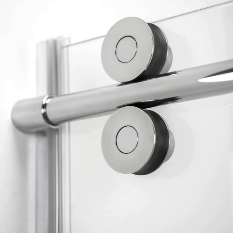 Image of Vivid 8mm Tempered Glass Sliding Door with Bar Handle