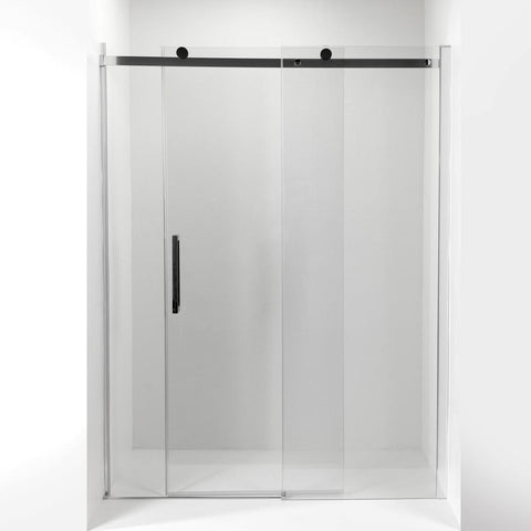 Image of Tidy 8mm Tempered Glass Sliding Shower Door with Bar Handle