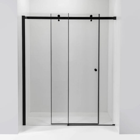 Image of Primo 6mm Tempered Glass Sliding Shower Door with Knob Handle