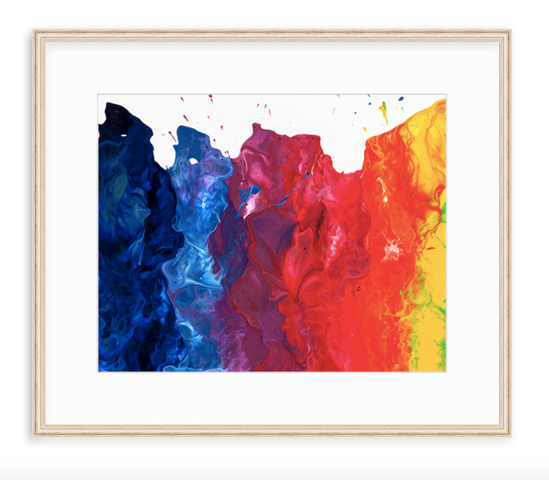 Fire on the mountain [Revelation at] - Framed Print
