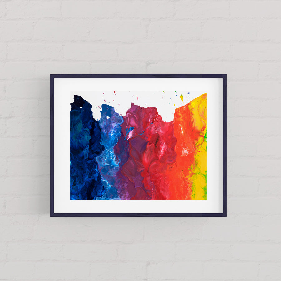 Fire On The Mountain Revelation At - Art Print