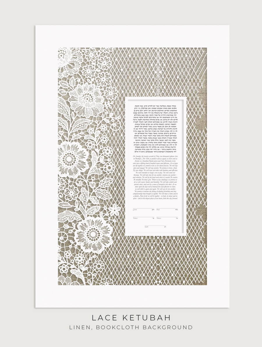 LACE, Linen, Bookcloth