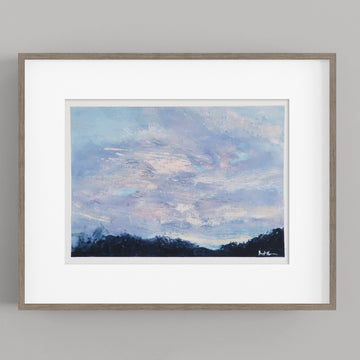Sky Over Shelbourne Falls · 12x9