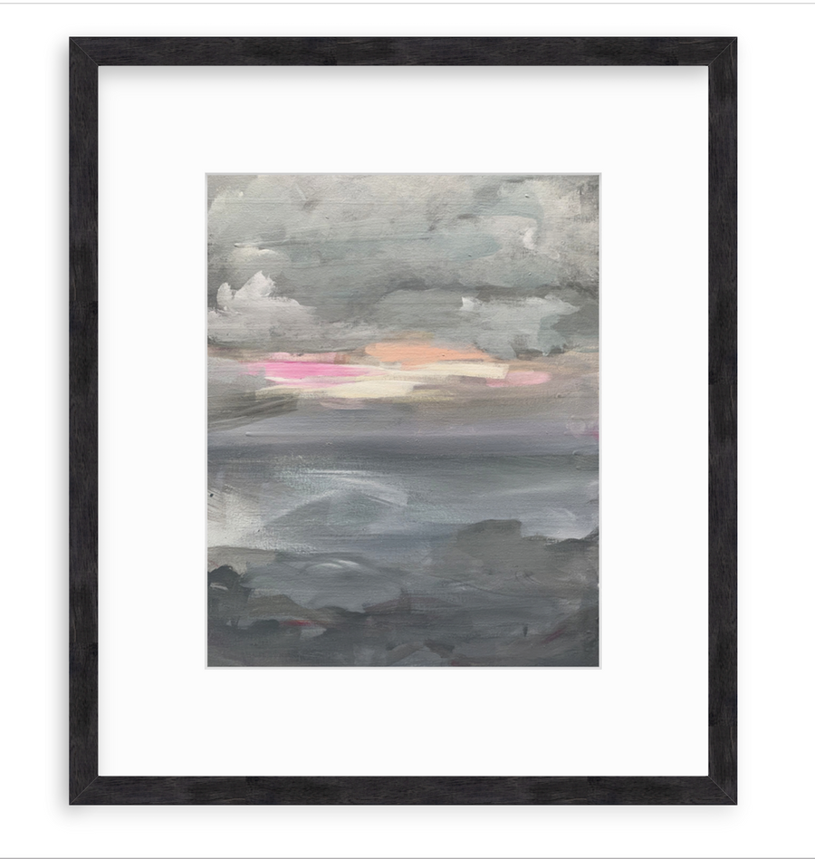 Storm On The Water - Art Print