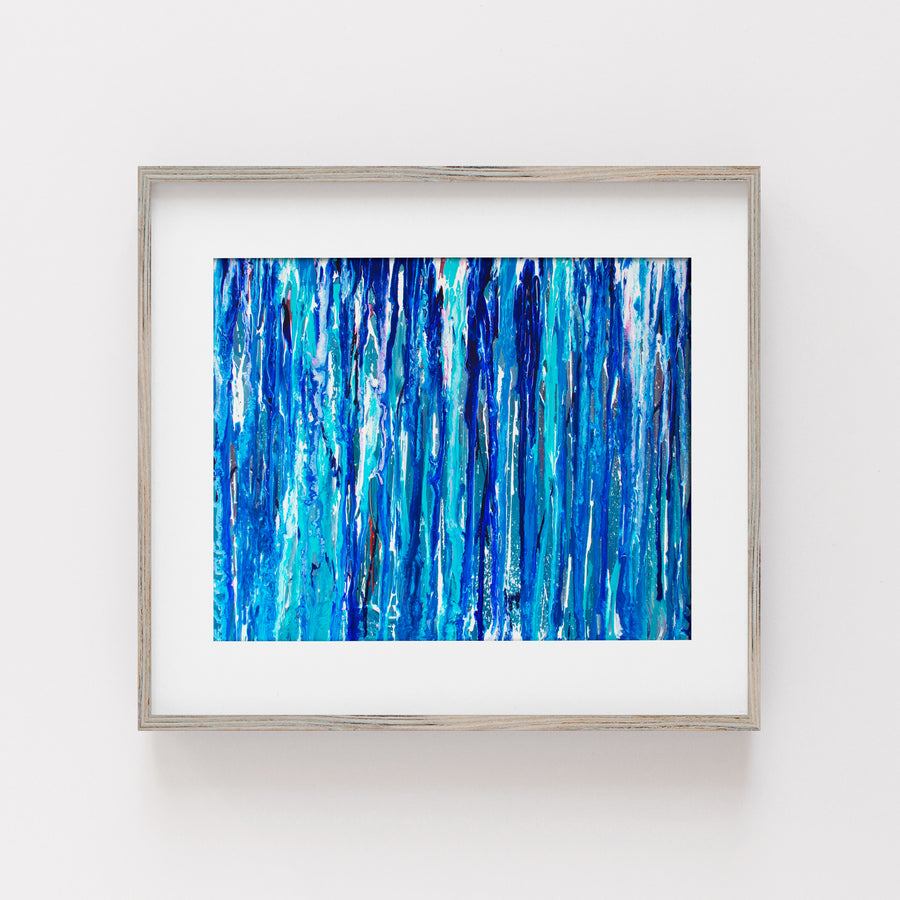 Summer Blue Waters - Art Print