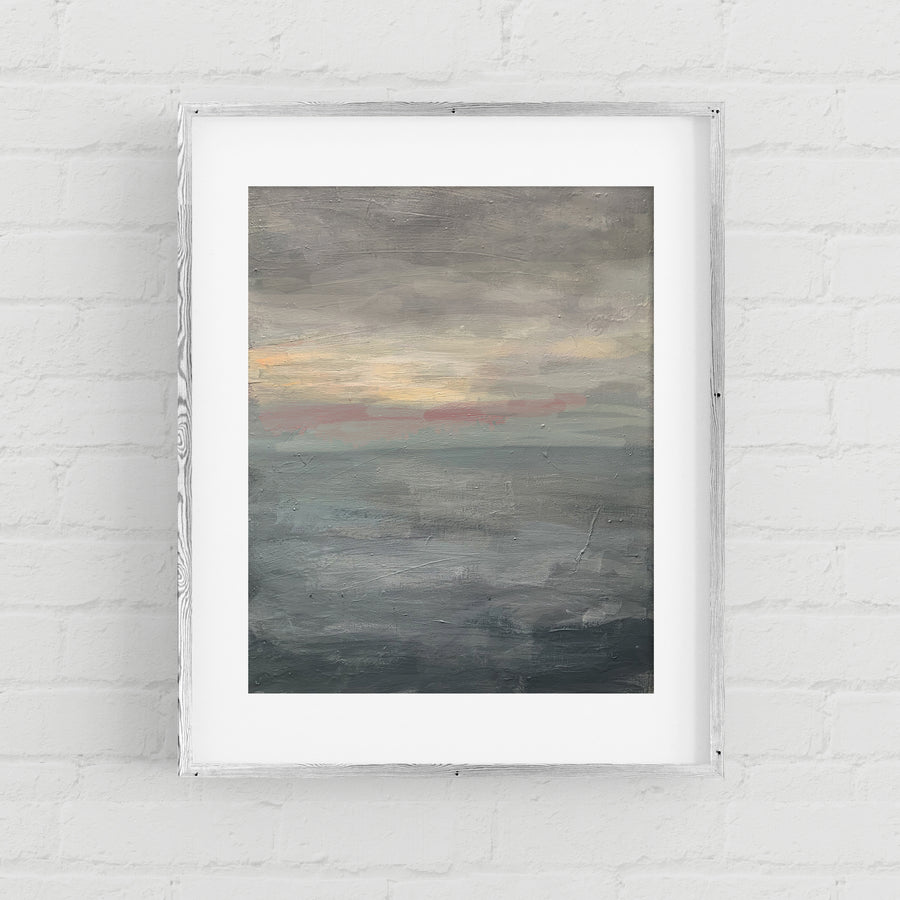 The Calm Before - Art Print