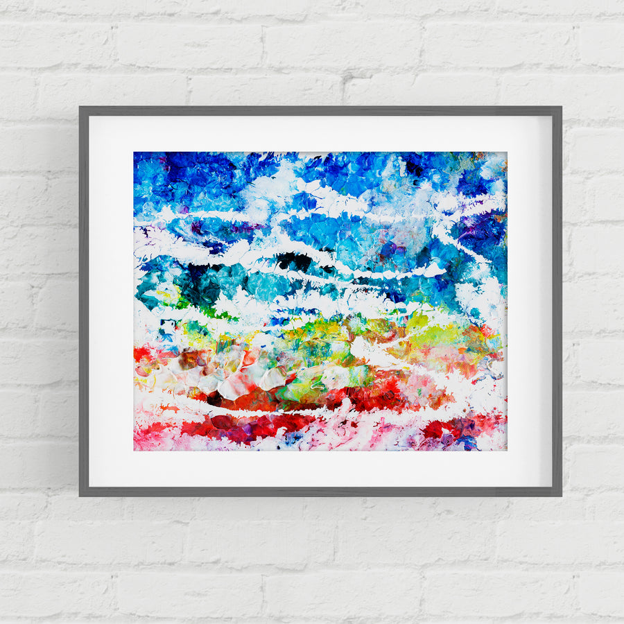 The Song That The Morning Brings The Gathering Of The Waters - Art Print