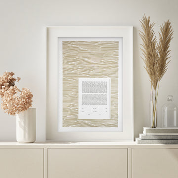 WAVES, Mother of Pearl, Pearlized Paper