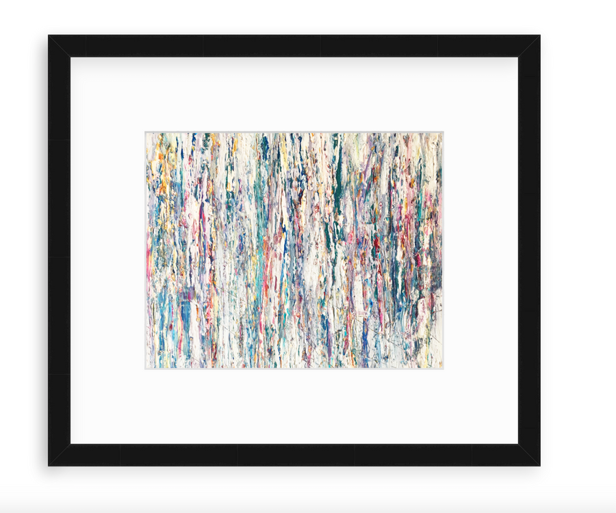 Weathered Color And Texture Study - Art Print