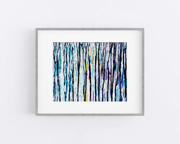 Winter Rain II - Art Print