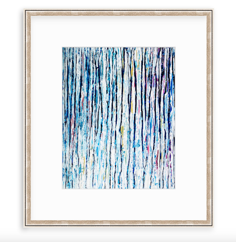 Winter Rain - Art Print