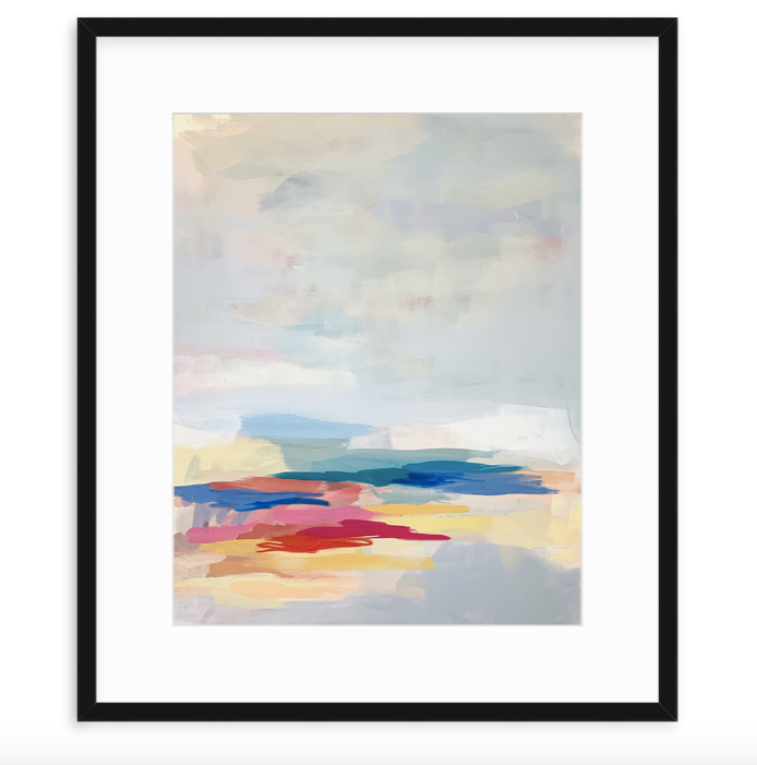 Journey in a Single Step - Framed Print
